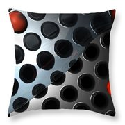 Water Plate Throw Pillow