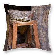 Water Purification In Arequipa Throw Pillow