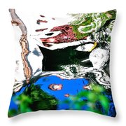 Water Reflection 29354 Throw Pillow