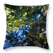 Water Reflections 4 Throw Pillow