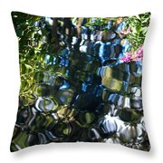 Water Reflections 9 Throw Pillow