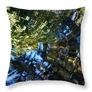 Water Reflections 5 Throw Pillow