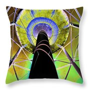Water Tower Belly V Throw Pillow