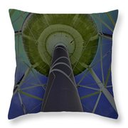 Water Tower Belly Vi Throw Pillow