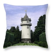 Water Tower Folly Throw Pillow