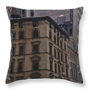 Water Towers Feed The Nyc Buildings Throw Pillow