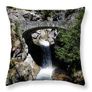 Water Under The Bridge Throw Pillow