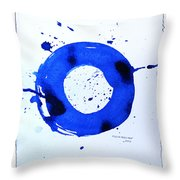 Water Variations 1 Throw Pillow
