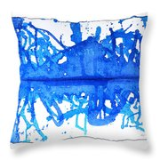 Water Variations 11 Throw Pillow