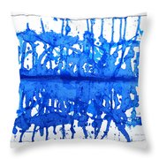 Water Variations 12 Throw Pillow