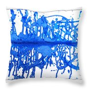 Water Variations 13 Throw Pillow