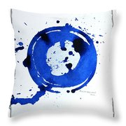 Water Variations 3 Throw Pillow