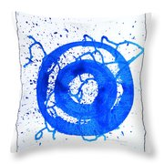 Water Variations 5 Throw Pillow