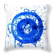 Water Variations 6 Throw Pillow