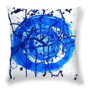 Water Variations 9 Throw Pillow