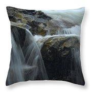 Water Veil Throw Pillow