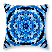 Water Walker Throw Pillow