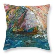 Water Water Everywhere - Section Throw Pillow