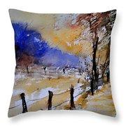 Watercolor 311017 Throw Pillow