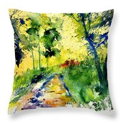 Watercolor 318012 Throw Pillow