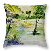 Watercolor 413022 Throw Pillow
