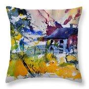 Watercolor 413050 Throw Pillow