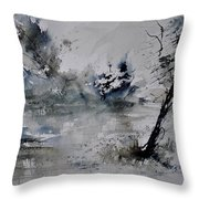 Watercolor 413052 Throw Pillow