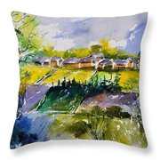 Watercolor 414022 Throw Pillow