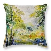 Watercolor 414061 Throw Pillow