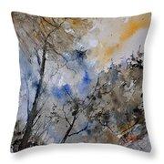 Watercolor 45319051 Throw Pillow