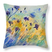 Watercolor 45417052 Throw Pillow