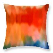 Watercolor 5 Throw Pillow