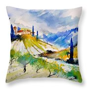 Watercolor Toscana 317040 Throw Pillow