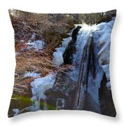 Waterfall 2 Throw Pillow