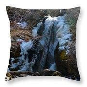 Waterfall 4 Throw Pillow