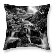 Waterfall At Rainbow Springs Throw Pillow