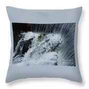 A Waterfall In Bantry, Ireland Throw Pillow
