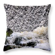 Waterfall Dance Throw Pillow