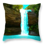 Waterfall Dreams Throw Pillow