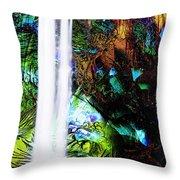 Waterfall Enchantment II Throw Pillow