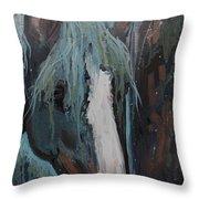 Waterfall II Throw Pillow