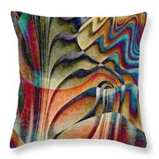 Waterfall Throw Pillow