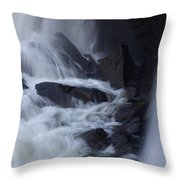 Waterfall Motion Throw Pillow