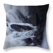 Waterfall Motion Throw Pillow