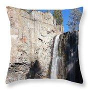 Waterfall Rainbow Throw Pillow
