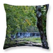 Waterfalls At Dusk 2012 Throw Pillow
