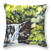 In Central Park N Y C Throw Pillow