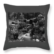 Waterfalls On The Mr J B Van Sciver Estate Throw Pillow