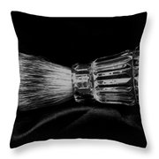Waterford Crystal Shaving Brush Throw Pillow
