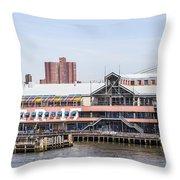 Waterfront 3 Throw Pillow